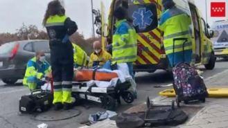 Un coche arrolla a dos mayores y a su nieta en un paso de cebra