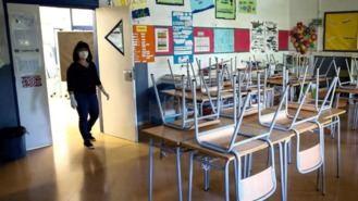 Las aulas en cuarentena en la región aumentan un 175% desde el viernes, 357 contabilizadas