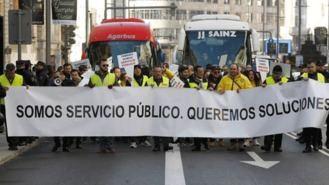 Chalecos amarillos del transporte cubrirán la línea roja de Madrid Central contra la medida
