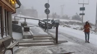 Alerta marilla por nieve en la Sierra y frío intento en toda la región
