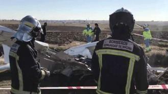 Mueren dos personas en una accidente de avioneta en Quijorna