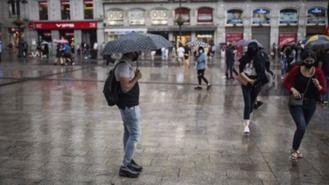 Aviso amarillo en toda la región por previsión de fuertes lluvias