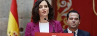 Ayuso y Aguado, 100 días en su 'bastión liberal' tensionado por Vox