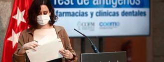 Madrid suma a farmacias y clínicas dentales a los cribados de antígenos