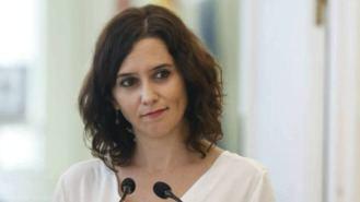 Ayuso rechaza cualquier acuerdo con el PSOE, mientras Arrimadas le pide reeditar el pacto con Cs