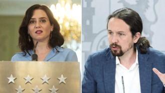 La JE estima que Iglesias y Ayuso incurrieron en una infracción de la Ley Electoral