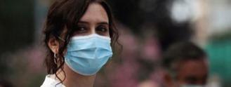 Ayuso: La mascarilla no será obligatoria en Madrid, 'por el momento'