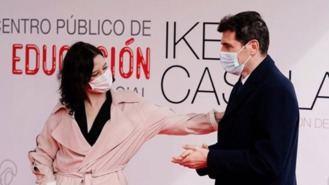 Ayuso y Casillas presentan el nuevo Colegio público de Educación Especial, estará en 2022