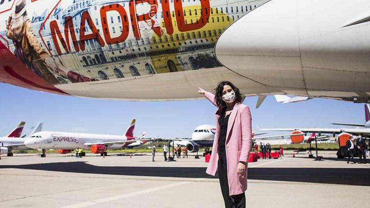 Ayuso a `españolear´a EE.UU: Potenciar Madrid para las empresas y el legado de España