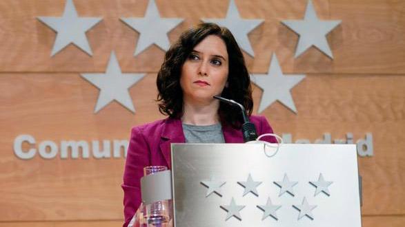 Unidas Podemos pide la suspensión de Ayuso como diputada por el 'regalo' del apartahotel