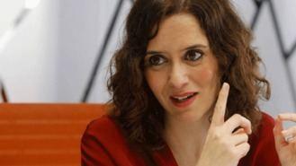 Ayuso, bronca al director de Telemadrid por los comentarios 'lamentables' de la Infanta Elena
