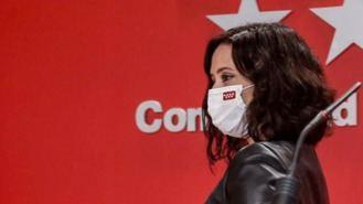 Ayuso mantendrá el toque de queda hasta que el virus esté controlado y critica a 'negacionistas'