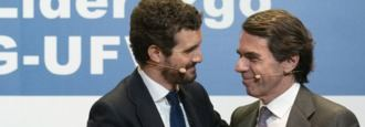 """Casado """"renueva"""" el PP con Aznar para frenar a Ayuso"""