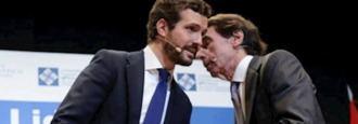 "'Cánovas"" Aznar ha vuelto para guiar a Casado"