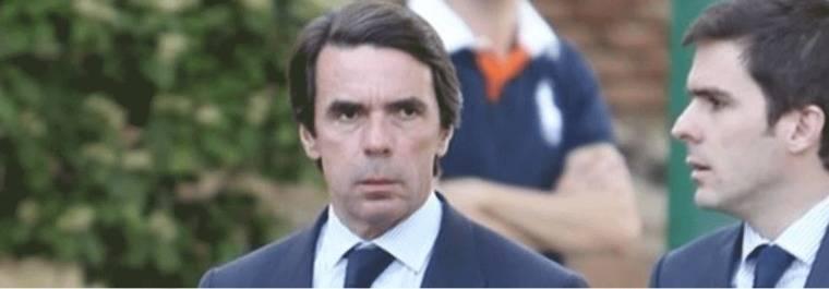 Aznar y el jefe de los espias de Trump