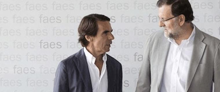 Aznar y Rajoy declararán como testigos en el juicio de la `caja B´del PP