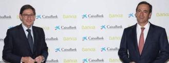 Caixabank y Bankia ahorrarán 770 M anuales
