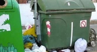 La huelga indefinida de basuras arrancará el día 11 de mayo
