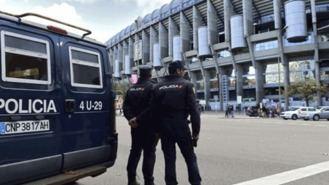 1.823 efectivos para blindar el Bernabéu en el Real Madrid-Viktoria Plzen