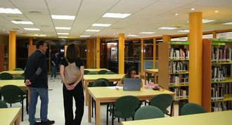 Tres bibliotecas abrirán 24 horas en los periodos de exámenes