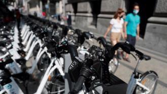 Unas 100 bicicletas de BiciMAD son abandonadas a diario en las calles