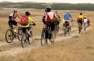 Marcha en bici en favor de la Cañada Real Galiana el 26 de abril