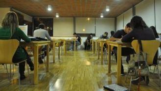 Las salas de estudio de las bibliotecas públicas amplían su horario en 2019