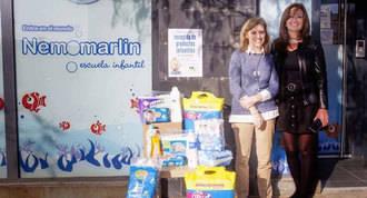 Campaña solidaria en las escuelas infantiles de productos no alimenticios