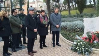 Homenaje a María Piedad al cumplirse siete años de su desaparición