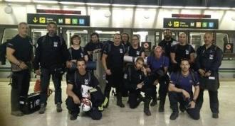 14 miembros del equipo de emergencia de BUSF se desplaza a Ecuador