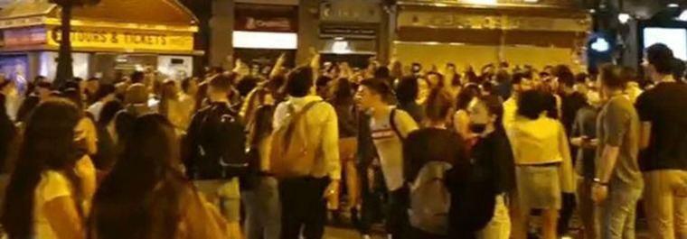 Madrid impone 650 multas por botellón tras el fin de la alarma