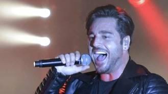 Bustamante vuelve a subirse al escenario en las fiestas de Las Rozas