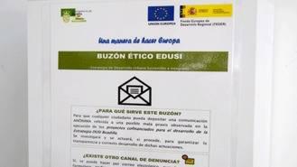 Buzón Etico para denunciar actuaciones fraudulentas en los procedimientos de EDUSI