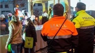 Bloques de hormigón y más vehículos policías para más seguridad en la Cabalgata