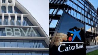 CaixaBank y BBVA preparan sus planes de recolocación para el 100% de adheridos al ERE