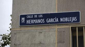 Un juez anula el cambio de nombre de la calle Hermanos García Noblejas