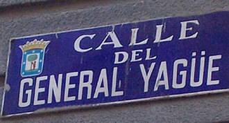 Madrid pide a la Administración Central retirar los símbolos franquistas