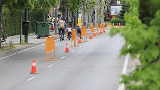 Se amplía la peatonalización de calles el fin de semana, entre ellas Ramón y Cajal