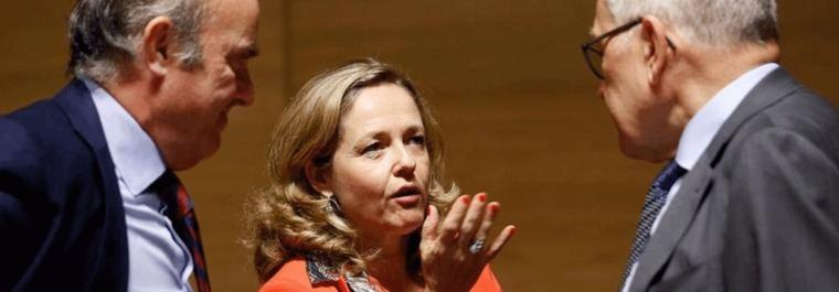 Lagarde y Guindos tienen de casamentera bancaria a Nadia Calviño