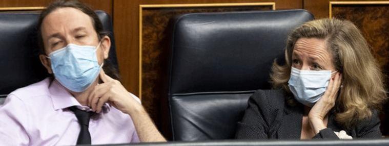 La rebelión de los ministros: Calviño, Campo, Maroto... reniegan del protagonismo de Podemos