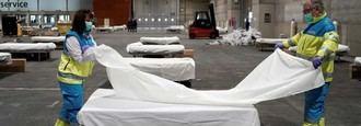 Habilitadas las primeras 1.400 camas y UCI en el hospital de Ifema
