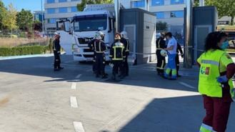 Muere un conductor aplastado por su camión en una ITV de Rivas