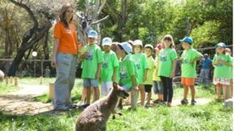 Niños mayores de 6 años deberán llevar mascarilla en los campamentos de verano de Faunia y el Zoo