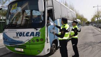 La Campaña de Vigilancia del Transporte Escolar se cierra con denuncias leves