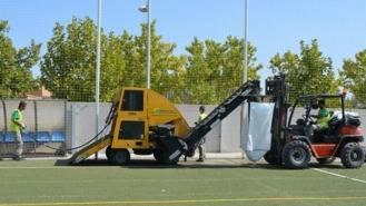 Arrancan los trabajos de mejora del Campo de Fútbol Municipal
