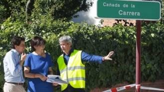 Las obras de pavimentación de la Vereda de la Cañada durarán hasta finales de julio