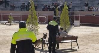 La Unidad Canina participa en unas jornadas policiales