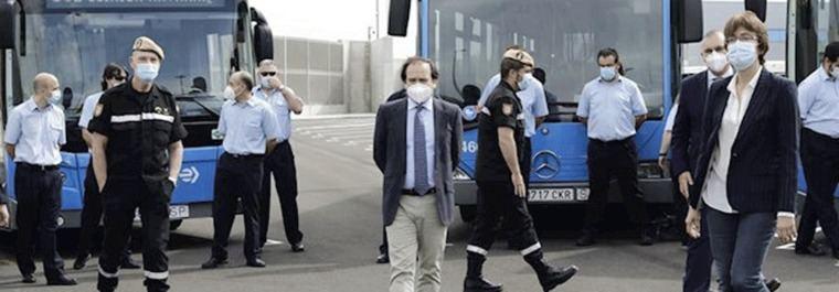 Carabante pide carriles Bus-VAO de acceso a Madrid 'aunque sea con pintura'