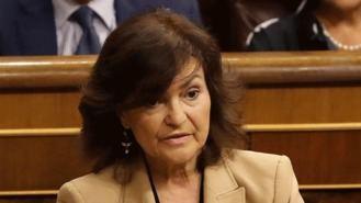 Calvo no se siente 'en absoluto' desautorizada por el Vaticano sobre los restos de Franco