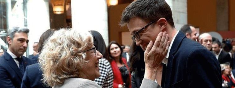 Carmena y Errejón dinamitan Podemos con `Mas Madrid Comunidad´